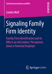 Signaling Family Firm Identity - Familiy Firm I...