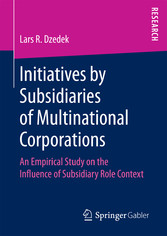Initiatives by Subsidiaries of Multinational Co...