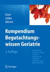 Kompendium Begutachtungswissen Geriatrie - Empf...