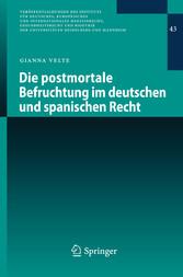 Die postmortale Befruchtung im deutschen und sp...