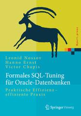 Formales SQL-Tuning für Oracle-Datenbanken - Pr...