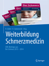 Weiterbildung Schmerzmedizin - CME-Beiträge aus...
