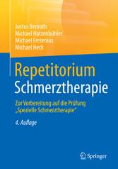 Repetitorium Schmerztherapie - Zur Vorbereitung...