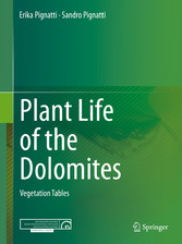 Plant Life of the Dolomites - Vegetation Tables