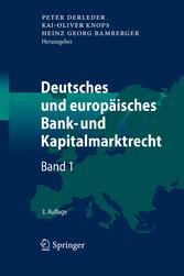 Deutsches und europäisches Bank- und Kapitalmar...