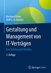 Gestaltung und Management von IT-Verträgen - Ei...