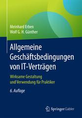 Allgemeine Geschäftsbedingungen von IT-Verträge...