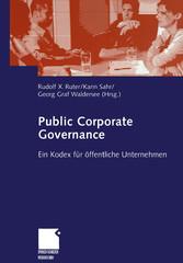 Public Corporate Governance - Ein Kodex für öff...