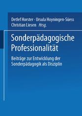 Sonderpädagogische Professionalität - Beiträge ...