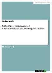 Geheimes Organisieren von U-Boot-Projekten in A...