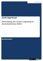 Entwicklung des Cloud Computings in deutschschw...