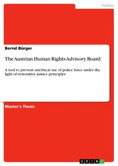 The Austrian Human Rights Advisory Board - A to...