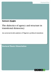 The dialectics of agency and structure in trans...