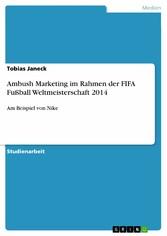 Ambush Marketing im Rahmen der FIFA Fußball Wel...