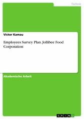 Employees Survey Plan. Jollibee Food Corporation