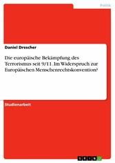 Die europäische Bekämpfung des Terrorismus seit...