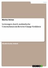 Leistungen durch ausländische Unternehmen im Re...