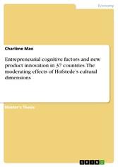 Entrepreneurial cognitive factors and new produ...