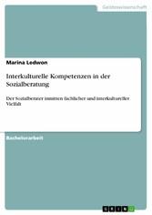 Interkulturelle Kompetenzen in der Sozialberatu...