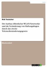 Der Ausbau öffentlicher WLAN-Netzwerke und die ...
