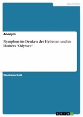 Nymphen im Denken der Hellenen und in Homers Od...