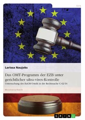 Das OMT-Programm der EZB unter gerichtlicher ul...