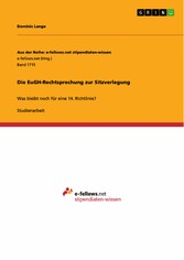 Die EuGH-Rechtsprechung zur Sitzverlegung - Was...