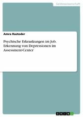 Psychische Erkrankungen im Job. Erkennung von D...