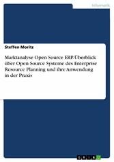 Marktanalyse Open Source ERP. Überblick über Op...