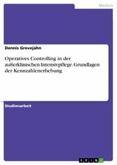 Operatives Controlling in der außerklinischen I...