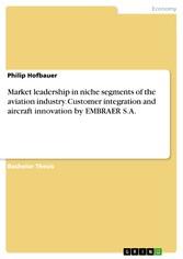 Market leadership in niche segments of the avia...