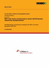 ERP in der Praxis. Kundensuche in einem SAP R/3...