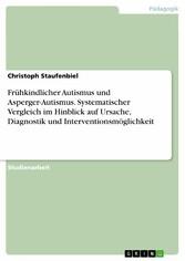 Frühkindlicher Autismus und Asperger-Autismus. ...
