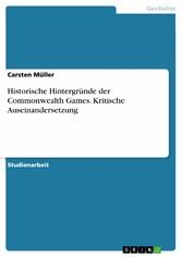 Historische Hintergründe der Commonwealth Games...