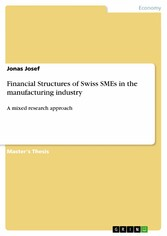 Financial Structures of Swiss SMEs in the manuf...