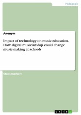 Impact of technology on music education. How di...