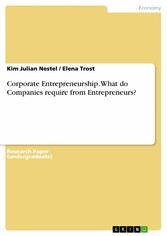 Corporate Entrepreneurship. What do Companies r...