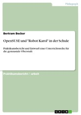 OpenSUSE und Robot Karol in der Schule - Prakti...