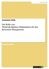 Die Rolle von Work-Life-Balance-Maßnahmen für d...