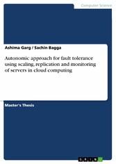 Autonomic approach for fault tolerance using sc...