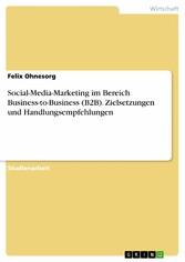 Social-Media-Marketing im Bereich Business-to-B...