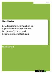 Belastung und Regeneration im Jugendleistungssp...