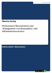 Performance-Measurement und -Management von Ken...