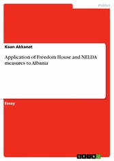 Application of Freedom House and NELDA measures...
