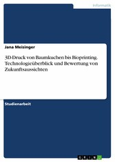 3D-Druck von Baumkuchen bis Bioprinting. Techno...