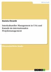 Interkulturelles Management in USA und Kanada i...