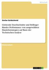 Gleitende Durchschnitte und Bollinger Bänder. P...