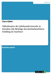 Villenbauten der Jahrhundertwende in Dresden. D...