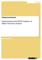 Environmental and SWOT Analyses of Hillier Nurs...