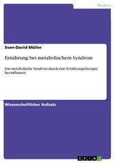 Ernährung bei metabolischem Syndrom - Das metab...